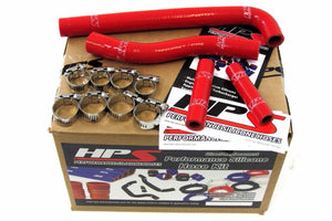 HPS Red Silicone Bike Radiator Hose for Yamaha 01-05 YZ250F Coolant YZ 250F-Performance-BuildFastCar