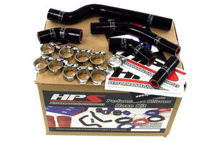HPS Black Silicone Bike Radiator Hose for Yamaha 2006 YZ250F Coolant YZ 250F-Performance-BuildFastCar