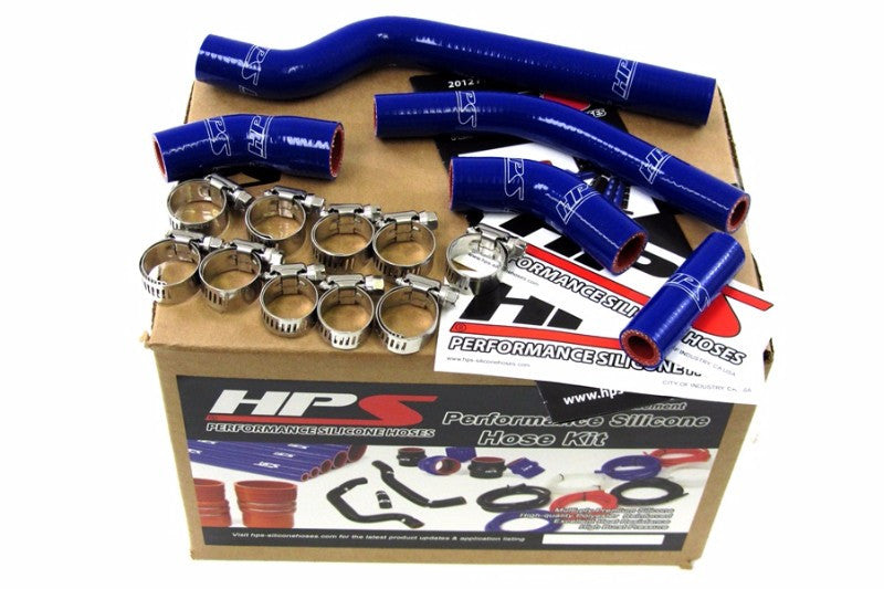 HPS Blue Silicone Bike Radiator Hose for Yamaha 07-09 WR250F Coolant WR 250F-Performance-BuildFastCar