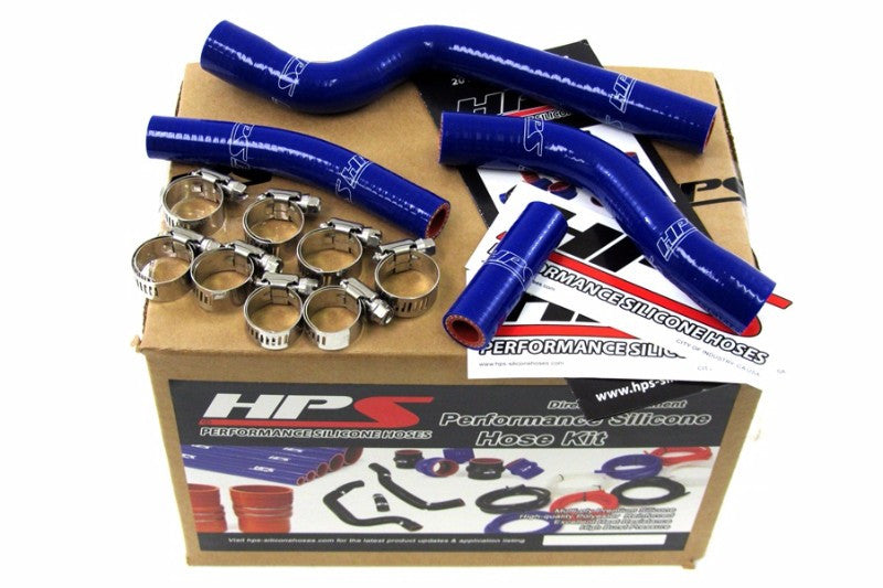 HPS Blue Silicone Bike Radiator Hose for Yamaha 07-09 YZ250F Coolant YZ 250F-Performance-BuildFastCar