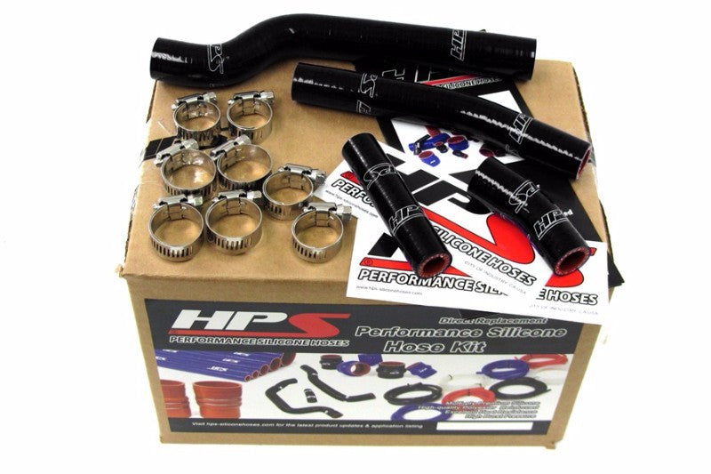 HPS Black Silicone Bike Radiator Hose for Yamaha 03-05 YZ450F Coolant YZ 450F-Performance-BuildFastCar