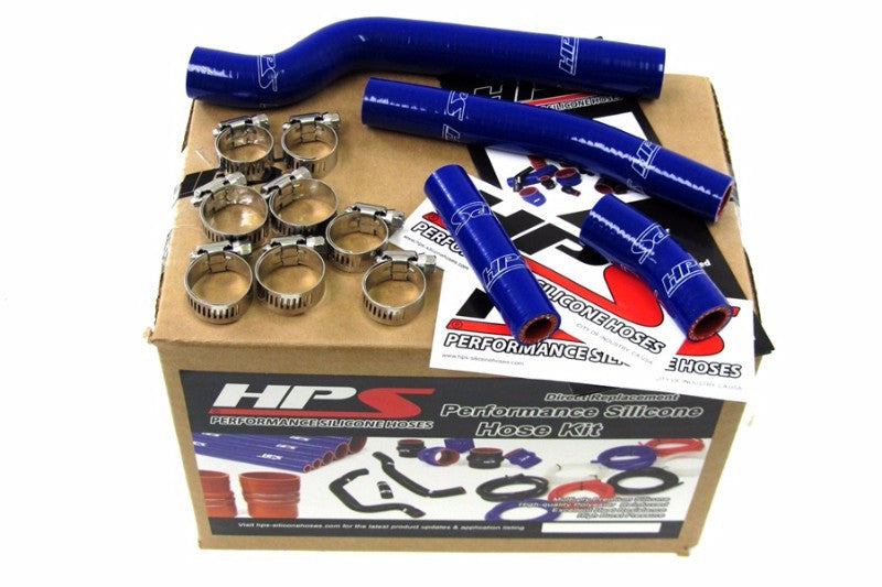 HPS Blue Silicone Bike Radiator Hose for Yamaha 03-05 YZ450F Coolant YZ 450F-Performance-BuildFastCar