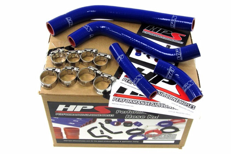 HPS Blue Silicone Bike Radiator Hose for Yamaha 10-12 YZ450F Coolant YZ 450F-Performance-BuildFastCar