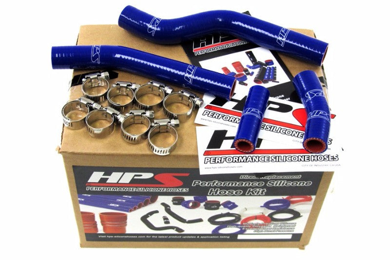 HPS Blue Silicone Bike Radiator Hose for Yamaha 07-09 YZ450F Coolant YZ 450F-Performance-BuildFastCar
