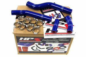 HPS Blue Silicone Bike Radiator Hose for Yamaha 07-09 WR450F Coolant WR 450F-Performance-BuildFastCar