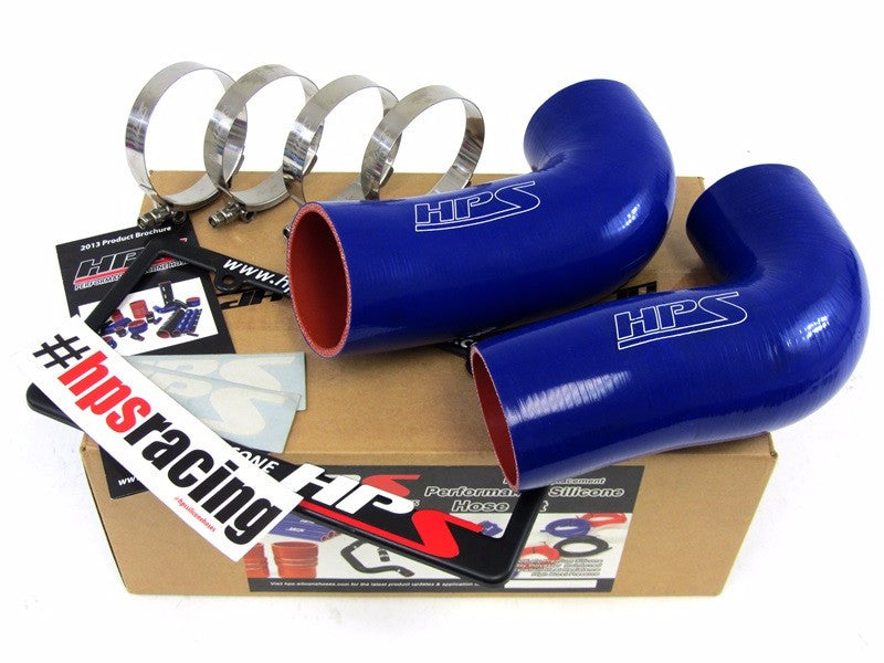 HPS Blue Silicone Post MAF Air Intake Hose Kit For BMW 98-03 M5 E39 5.0L V8-Performance-BuildFastCar