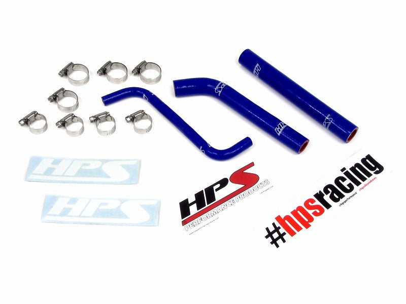 HPS Blue 3-Ply Silicone Radiator Hose Kit for Honda 04-09 TRX450R Coolant-Performance-BuildFastCar