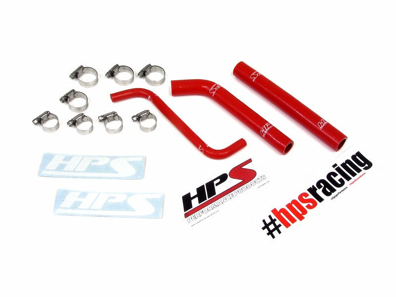 HPS Red 3-Ply Silicone Radiator Hose Kit for Honda 04-09 TRX450R Coolant-Performance-BuildFastCar