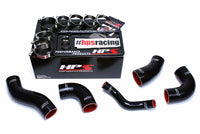 HPS Black 4-Ply Silicone Intercooler Turbo Hose Kit For Kia 11-15 Optima 2.0L Turbo-Performance-BuildFastCar
