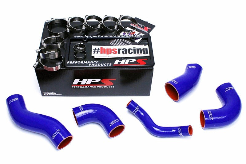 HPS Blue 4-Ply Silicone Intercooler Turbo Hose Kit For Kia 11-15 Optima 2.0L Turbo-Performance-BuildFastCar