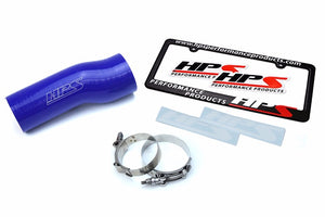 HPS Blue Silicone Post MAF Air Intake Hose For Honda 16-18 Civic/17-18 Civic Si 1.5L Turbo-Performance-BuildFastCar