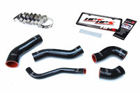 HPS Black Silicone Intercooler Hose Kit For Hyundai 13-17 Veloster 1.6L Turbo-Performance-BuildFastCar