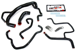 HPS Black Silicone Radiator+Heater Hose Kit for Dodge 15-18 Charger SRT 392 6.4L V8-Performance-BuildFastCar