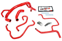 HPS Red Silicone Radiator+Heater Hose Kit for Dodge 15-16 Charger R/T Scat Pack 392 6.4L V8-Performance-BuildFastCar