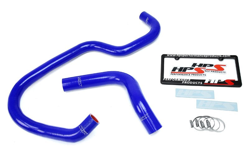 HPS Blue Silicone Radiator Hose Kit For 07-14 Esc/Tah/Sub/Yuk/Sie/Silv/Aval V8-Performance-BuildFastCar