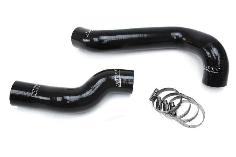 HPS Black Silicone Radiator Hose Kit Coolant for 99-00 BMW E46 323i M52 2.5L-Performance-BuildFastCar