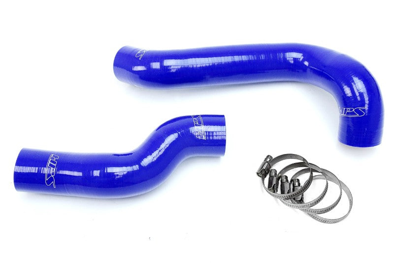 HPS Blue Silicone Radiator Hose Kit Coolant for 01-05 BMW E46 325i 325Xi M54-Performance-BuildFastCar
