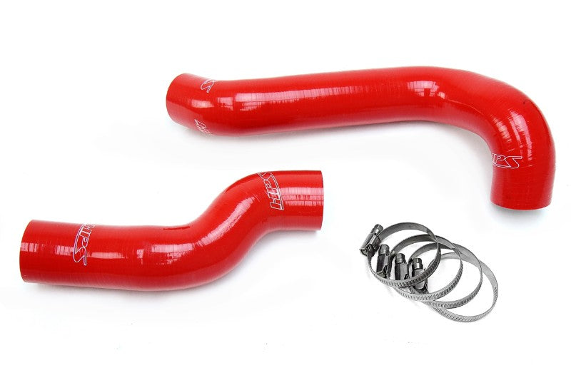 HPS Red Silicone Radiator Hose Kit Coolant for 01-05 BMW E46 325i 325Xi M54 2.5L-Performance-BuildFastCar