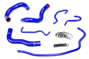 HPS Blue Silicone Radiator Hose Kit Coolant for 14-18 Toyota Corolla 1.8L-Performance-BuildFastCar