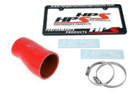 HPS Red Silicone Post MAF Air Intake Hose Kit for Honda 17-19 Civic X Type R 2.0L Turbo