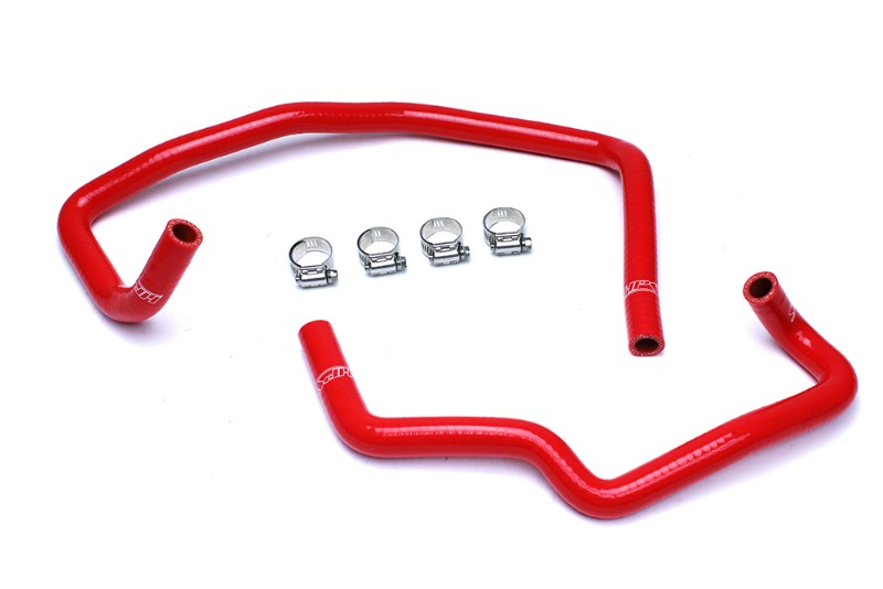 HPS Red Silicone Heater Hose Kit Coolant For 03-09 Toyota 4Runner 4.0L V6-Performance-BuildFastCar