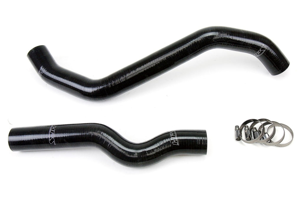 HPS Black Reinforced Silicone Radiator Hose Kit Coolant for Infiniti 06-09 M35 3.5L V6-Hose Kits-BuildFastCar