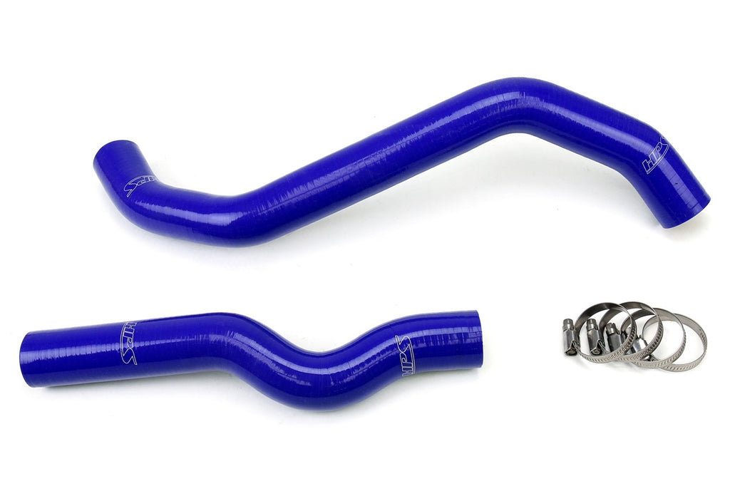 HPS Blue Reinforced Silicone Radiator Hose Kit Coolant for Infiniti 06-09 M35 3.5L V6