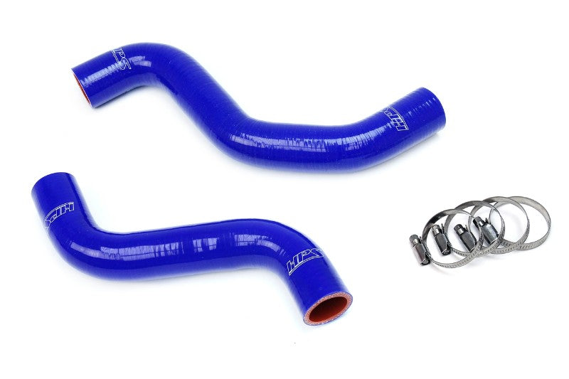 HPS Blue Silicone Radiator Hose For Toyota 95-04 Tacoma V6 3.4L Manual Trans.-Hose Kits-BuildFastCar-57-1840-BLUE