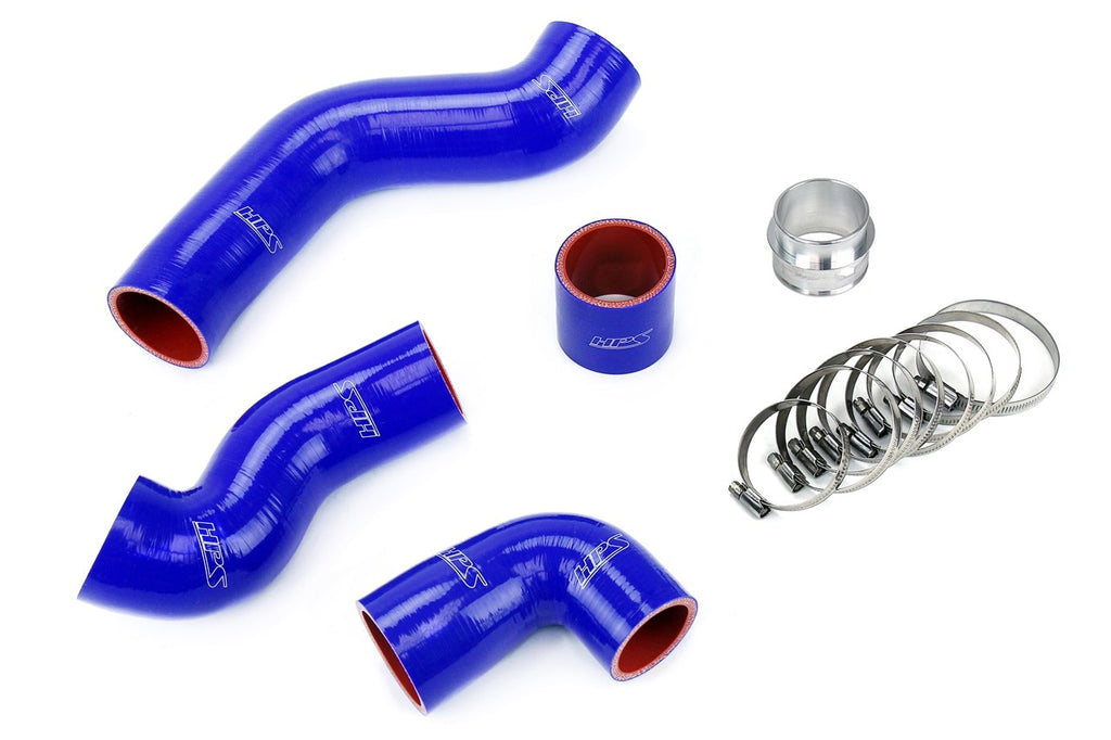 HPS Blue Reinforced Silicone Intercooler Hose Kit for Volkswagen 00-01 Golf MK4 1.8T Turbo AWP