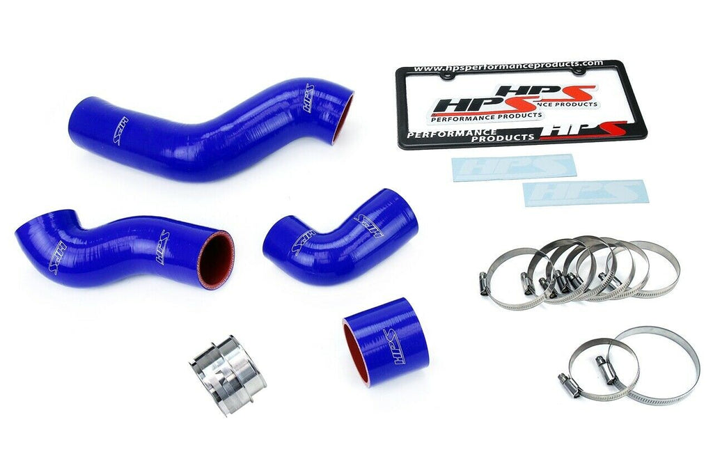 HPS Blue Reinforced Silicone Intercooler Hose Kit for Volkswagen 99-06 Golf GTI MK4 1.8T Turbo AWP