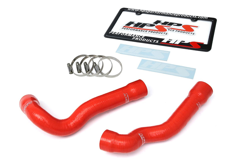 HPS Red Reinforced Silicone Radiator Hose Kit Coolant for BMW 92-99 E36 325 / M3