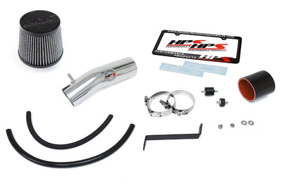 HPS Polish Shortram Air Intake Kit with Filter For 04-08 Acura TL 3.2L V6-Air Intake Systems-BuildFastCar-827-275P-1