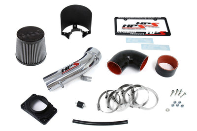 HPS Performance Polish Shortram Air Intake for 2000-2005 Mitsubishi Eclipse V6 3.0L-Air Intake Systems-BuildFastCar-827-423P-1