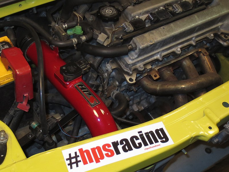 HPS Performance Red Shortram Air Intake for 2000-2005 Toyota MR2 Spyder 1.8L-Air Intake Systems-BuildFastCar-827-509R