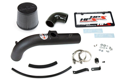 HPS Performance Black Shortram Air Intake for 2000-2005 Toyota MR2 Spyder 1.8L-Air Intake Systems-BuildFastCar-827-509WB