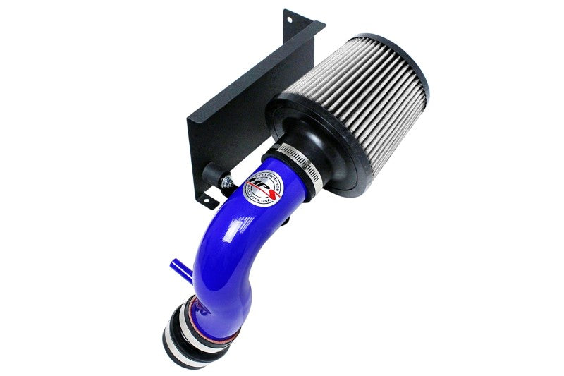 HPS Blue Shortram Air Intake+Heatshield with Filter For 07 Mini Cooper S 1.6L-Air Intake Systems-BuildFastCar-827-544BL-4