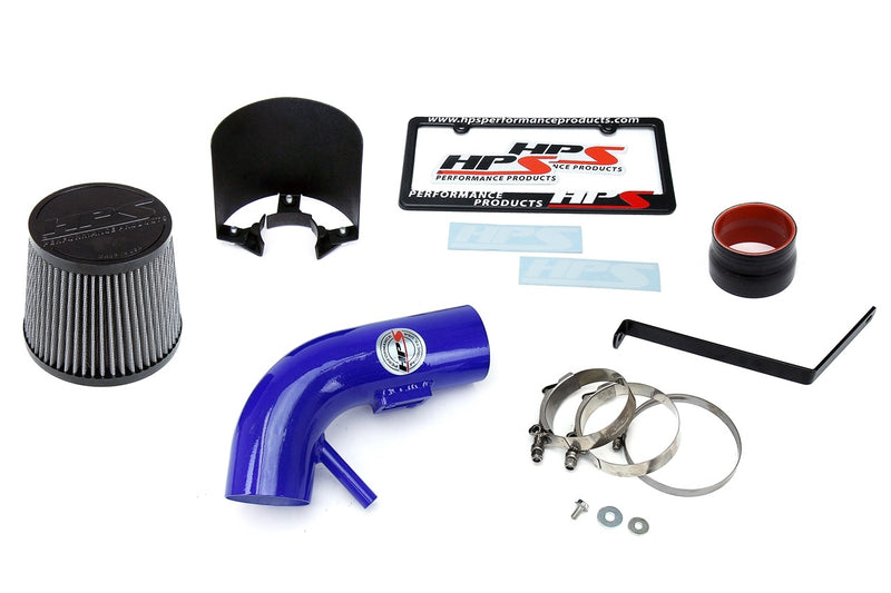 HPS Performance Blue Shortram Air Intake for 2007-2012 Nissan Altima 2.5L 4Cyl-Air Intake Systems-BuildFastCar-827-546BL-1
