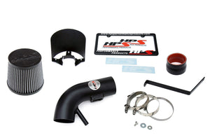 HPS Performance Black Shortram Air Intake for 2007-2012 Nissan Altima 2.5L 4Cyl-Air Intake Systems-BuildFastCar-827-546WB-1