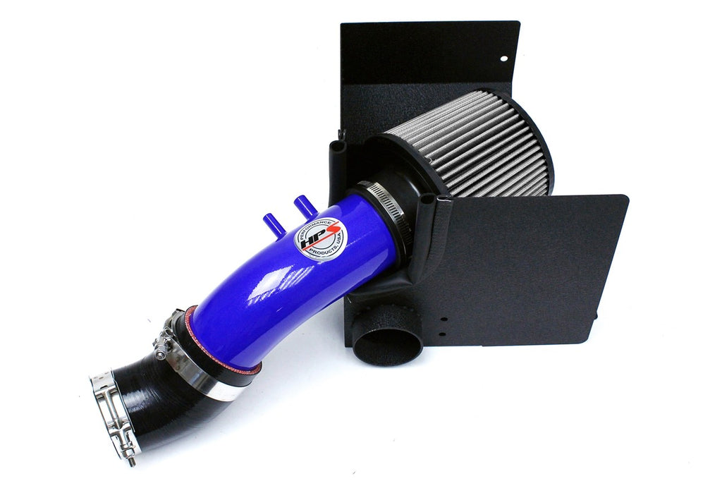 HPS Performance Blue Shortram Air Intake for 2013 Kia Forte5 2.0L-Air Intake Systems-BuildFastCar-827-552BL-3