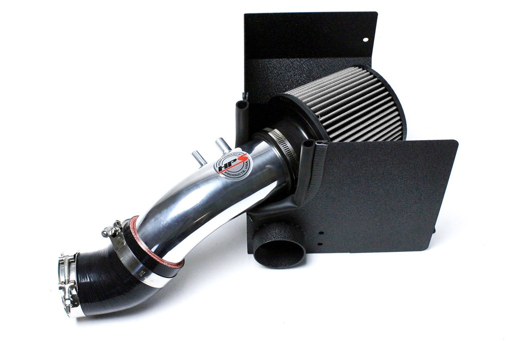 HPS Performance Polish Shortram Air Intake for 2010-2013 Kia Forte 2.0L-Air Intake Systems-BuildFastCar-827-552P-1