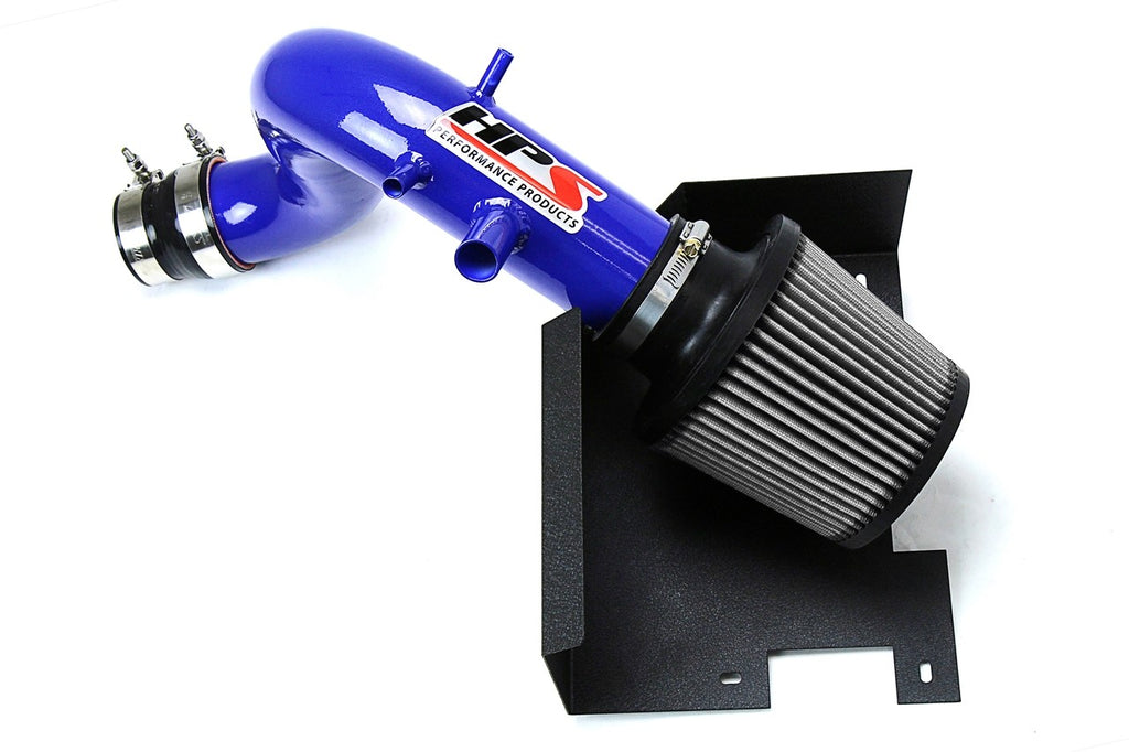 HPS Performance Blue Shortram Air Intake Kit for 2011-2015 Kia Optima 2.0L Turbo-Air Intake Systems-BuildFastCar-827-587BL-1