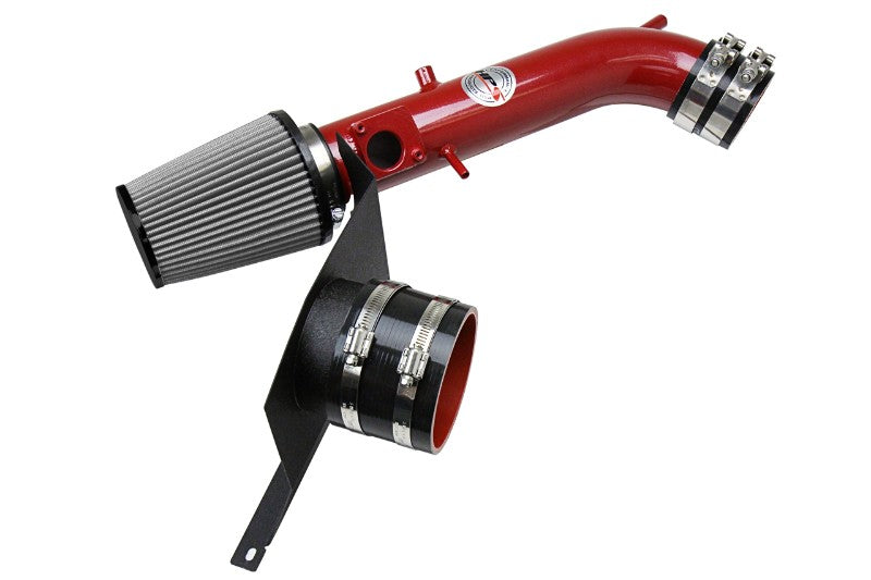 HPS Red Shortram Air Intake Kit+Heatshield with Filter For 01-05 Lexus IS300 3.0L-Air Intake Systems-BuildFastCar-827-590R
