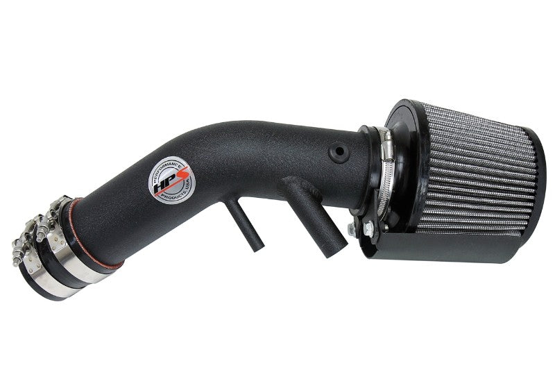 HPS Black Shortram Air Intake+Heatshield with Filter For 16-17 Kia Optima LX-Air Intake Systems-BuildFastCar-827-594WB-1