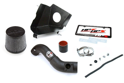 HPS Black Shortram Air Intake+Heatshield with Filter For 16-19 Honda Civic 2.0L-Air Intake Systems-BuildFastCar-827-599WB
