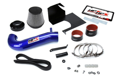 HPS Blue Shortram Air Intake Kit+Heatshield with Filter For 11-17 Dodge Charger-Air Intake Systems-BuildFastCar-827-600BL-1