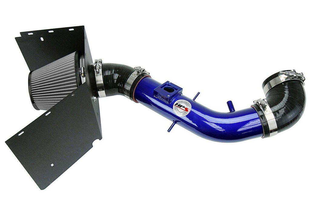 HPS Blue Shortram Air Intake+Heatshield with Filter For 03-04 Lexus GX470-Air Intake Systems-BuildFastCar-827-618BL-2