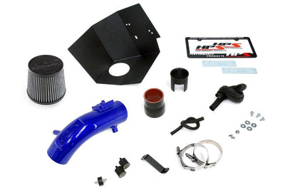 HPS Blue Shortram Air Intake Kit+Heatshield with Filter For 09- Toyota Corolla 1.8L-Air Intake Systems-BuildFastCar-827-619BL-1