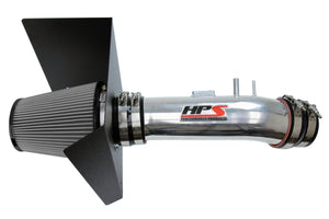 HPS Performance Polish Shortram Air Intake for 2012-2019 Toyota Tundra 5.7L V8-Air Intake Systems-BuildFastCar-827-630P