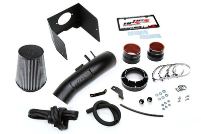 HPS Black Shortram Air Intake Kit+Heatshield with Filter For 08-18 Toyota Land Cruiser-Air Intake Systems-BuildFastCar-827-635WB-1