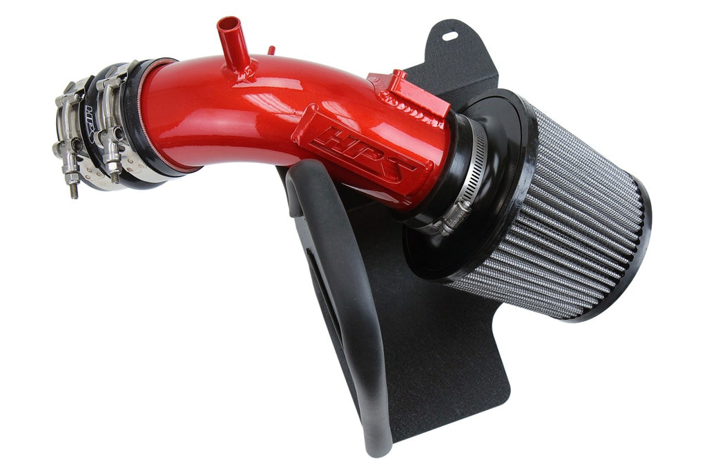 HPS Performance Red Shortram Air Intake for 2018-2019 Toyota Camry 2.5L-Air Intake Systems-BuildFastCar-827-665R